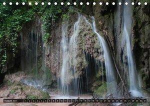 Wasserfälle der Welt 2017 (Tischkalender 2017 DIN A5 quer)