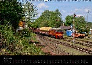 Eisenbahn in Nordböhmen 2017 (Wandkalender 2017 DIN A2 quer)