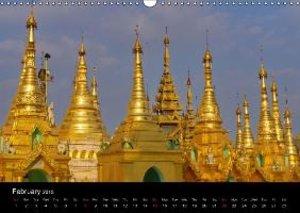 Enchanting Myanmar (Wall Calendar 2015 DIN A3 Landscape)