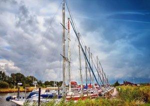 Friesland - am Vareler Hafen (Posterbuch DIN A3 quer)
