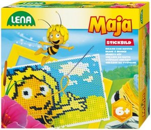 Simm 42618 - Lena: Stickbild Biene Maja 2