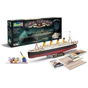 Revell 05715 - Geschenkset: 100 Jahre Titanic, Maßstab 1:400