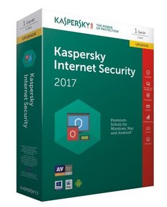 Kaspersky Internet Security 2017 Upgrade (Code in a Box). Für Wi