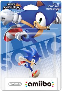 Amiibo Super Smash Bros. Collection - No. 26 Sonic the Hedgehog