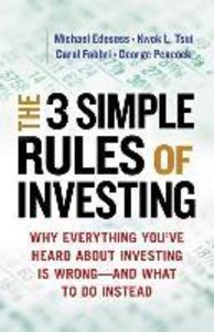 The Three Simple Rules of Investing