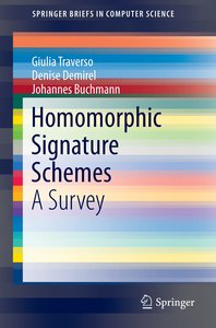 Homomorphic Signature Schemes