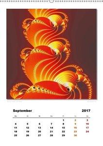 Ästhetisches Chaos - Morgenröte (Wandkalender 2017 DIN A2 hoch)