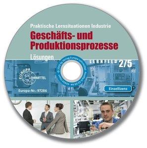 Lösungs-CD zu 97798 - Praktische Lernsituationen Industrie