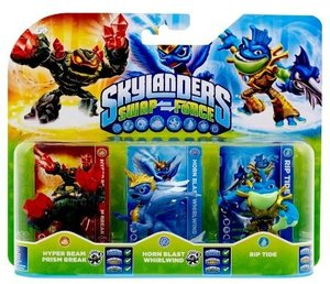 Skylanders Swap Force - Triple Pack E (Hyper Beam Prism Break, H