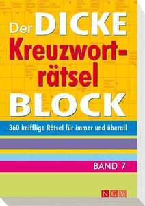 dicke Kreuzworträtsel-Block 7