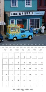 Famous British Model Cars (Wall Calendar 2015 300 × 300 mm Squar