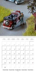 Famous British Model Cars (Wall Calendar 2015 300 × 300 mm Squar