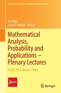 Mathematical Analysis, Probability and Applications - Plenary Le