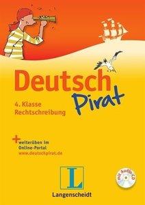 Deutschpirat 4. Klasse Rechtschreibung
