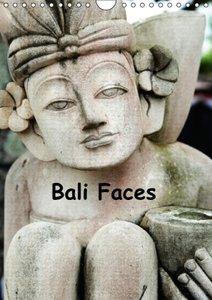 Bali Faces (Wall Calendar 2015 DIN A4 Portrait)