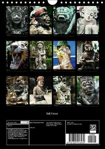 Bali Faces (Wall Calendar 2015 DIN A4 Portrait)