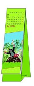 Der kleine Maulwurf 2016 Lesezeichenkalender