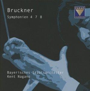 Bruckner Sinfonien 4,7,8
