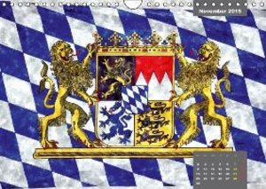 Beautiful Bavaria in Watercolor / UK-Version (Wall Calendar 2015