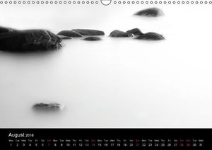 Black and White Nature (Wall Calendar 2016 DIN A3 Landscape)