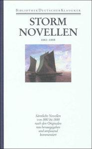 Novellen 1881 - 1888