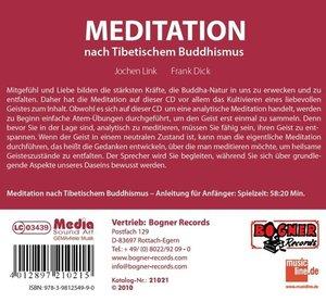 Meditation nach Tibetischem Buddhismus