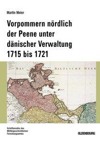 Vorpommern nördlich der Peene unter dänischer Verwaltung 1715 bi