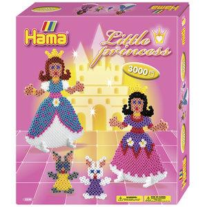 Hama 3230 - Geschenkpackung Kleine Prinzessinnen, circa 3000 Büg