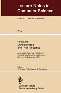 Petri Nets: Central Models and Their Properties