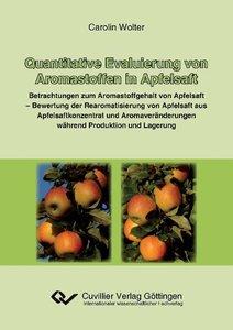 Quantitative Evaluierung von Aromastoffen in Apfelsaft