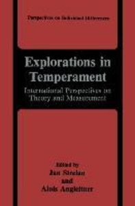 Explorations in Temperament