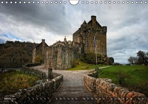 Travel Destination Scotland / UK-Version (Wall Calendar 2015 DIN
