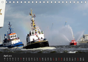 Hamburg Hafengeburtstag (Tischkalender 2019 DIN A5 quer)