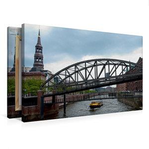 Premium Textil-Leinwand 75 cm x 50 cm quer Wandbild Hamburger Sp
