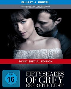 Fifty Shades of Grey - Befreite Lust, 2 Blu-ray (DigiBook)