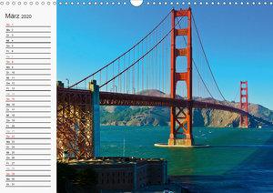 KALIFORNIEN Küstenimpressionen (Wandkalender 2020 DIN A3 quer)