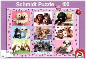Meine Tierfreunde (Kinderpuzzle)
