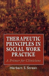 Therapeutic Principles in Soci