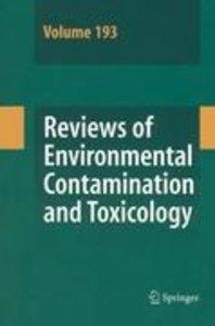 Reviews of Environmental Contamination and Toxicology 193