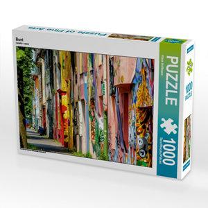 Bunt 1000 Teile Puzzle quer