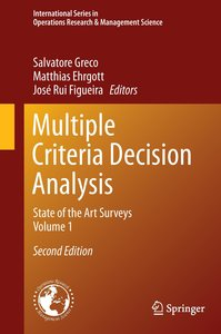 Multiple Criteria Decision Analysis