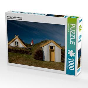 Museum bei Glaumbaer 1000 Teile Puzzle quer