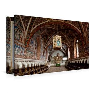 Premium Textil-Leinwand 90 cm x 60 cm quer Kloster Wienhausen, N
