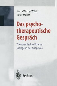 Das psychotherapeutische Gespräch