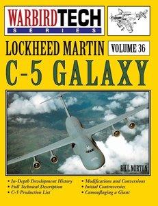 Lockheed Martin C-5 Galaxy - Warbirdtech Vol. 36