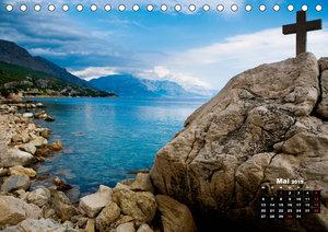 Kroatien - Split und die dalmatinische Küste (Tischkalender 2019
