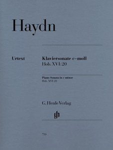 Klaviersonate c-moll Hob. XVI:20
