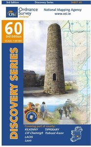 Irish Discovery Series 60. Kilkenny, Laois, Tipperary 1 : 50 000