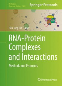 RNA-Protein Complexes and Interactions