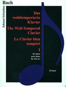 Das wohltemperierte Klavier. Bd.1